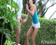 Tight Teen Pussy Meets A Cock - scene 8