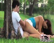 Tight Teen Pussy Meets A Cock - scene 6