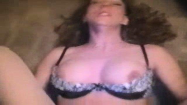Woman cuming