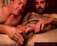 Bearded Straight Bear Gets A Facial - scene 8