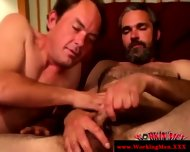 Bearded Straight Bear Gets A Facial - scene 10
