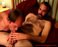 Bearded Straight Bear Gets A Facial - scene 12