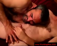Bearded Straight Bear Gets A Facial - scene 3