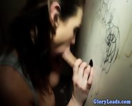 Glory Hole Skank Desperate For Cock - scene 8