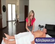 Brandi Love And Taylor Whyte Sharing Bf On Massage Table - scene 1