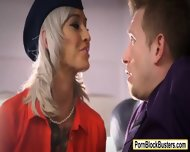 Inked Flight Attendant Kleio Valentien Fucked On Board - scene 1
