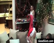 Boobs Flashing At Christmas Party - scene 5