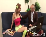 Babe Gets Hot Fucking Lesson - scene 2