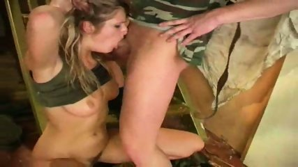 Guerilla Babe hunts down Enemy - scene 9