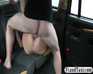 Huge Boobs Customer Fucked In The Taxi For Free Fare - scene 11