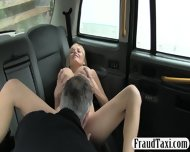 Huge Boobs Customer Fucked In The Taxi For Free Fare - scene 5