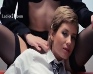 Neverending Strap-on Girl4girl Action - scene 1