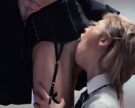 Neverending Strap-on Girl4girl Action - scene 4