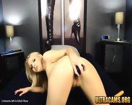 Beautiful Petite Blonde Girlfriend Fucks Her Tight Cunt - scene 10