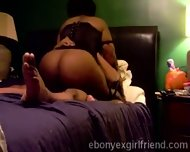 Young Ebony Bounces Her Hot Ass Riding Her Horny White Boyfriend - scene 11