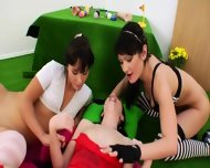 Three Bum Queens And Brutal Dildos - scene 8