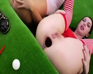Three Bum Queens And Brutal Dildos - scene 3