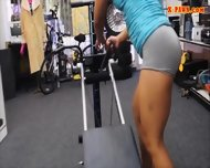 Gym Trainer Selling Her Stuff And Fucked At The Pawnshop - scene 4