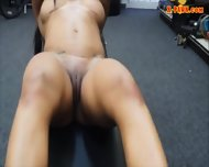Gym Trainer Selling Her Stuff And Fucked At The Pawnshop - scene 7
