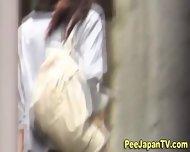 Japanese Babes Peeing - scene 9
