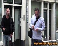 Amateur Euro Hooker Sucks - scene 1