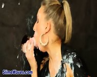 Glamour Whore Clit Rub - scene 1