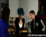 Interracial Goth Bitch - scene 2