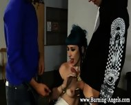 Interracial Goth Bitch - scene 5