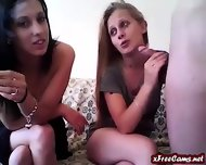 Two Girls 2 Dildos And 1 Cock - scene 3