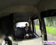 Nasty Customer Ball Licking And Banged In The Backseat - scene 2