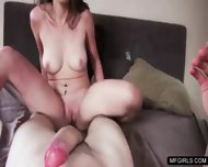 Messy Whore Gets Pounded On All Her Holes In A Hotel Room - scene 2