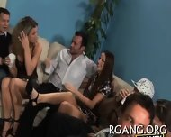 Guys Stare At Lesbo Fun - scene 7