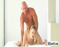 Stunning Blonde Babe Natalia Starr Glamcore Scene In Bed - scene 10