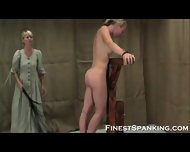 Restricted And Spanked Naughty Girls - scene 5