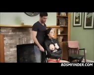 Tied Up At Home Spanking And Blowjob - scene 4