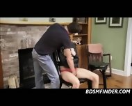 Tied Up At Home Spanking And Blowjob - scene 6