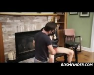 Tied Up At Home Spanking And Blowjob - scene 7