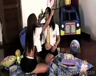 Kinky Schoolgirl Takes Off Her Gf Diaper To Play With That Pussy - scene 6