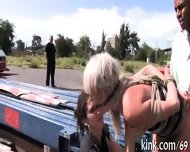 Explicit Group Pleasuring - scene 10