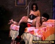 Super Hot Lesbian Spanking Fetish - scene 9