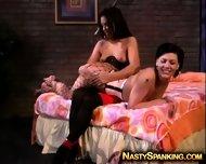 Super Hot Lesbian Spanking Fetish - scene 10