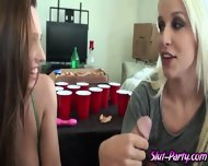 Watch This Blonde Beauties Who Was Given A Load In Their Naked Bodies - scene 6