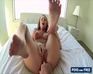 Sexy And Beautiful Alexis Adams Strips Naked In The Bathroom - scene 7