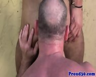 Mature Daddy Bear Bangs His Tattooed Gardener - scene 6