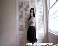You Are Nothing But A Little Cum Eating Slut - scene 3