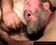 Bearded Straight Amateur Dilfs Sucking - scene 10