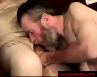 Bearded Straight Amateur Dilfs Sucking - scene 12