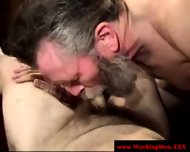 Bearded Straight Amateur Dilfs Sucking - scene 3