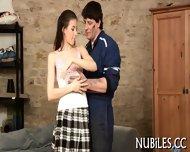 Busty Babe Gets Banged - scene 1