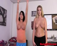 Busty Hazed Coed Jumping Jacks - scene 8